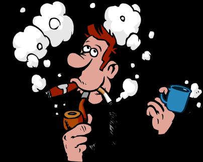 Zigarren Baur Comic Figur